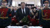 Похороны посла России Андрея Карлова