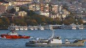 """Разведывательный корабль ЧФ """"Лиман"""" затонул близ побережья Турции"""