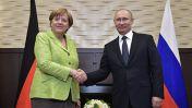 Переговоры Путина и Меркель в Сочи