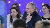 """Встреча Путина и воспитанников образовательного центра для одаренных детей """"Сириус"""""""