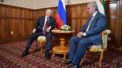 Владимир Путин приехал в Абхазию с рабочим визитом