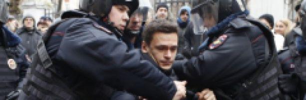 Протестные события в России 2010-2012 (часть третья)