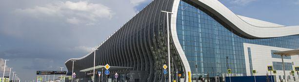 Подробный фоторепортаж про новый терминал Симферопольского аэропорта