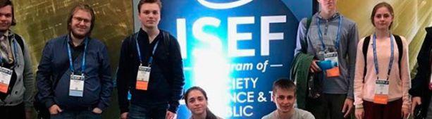 Школьники из России завоевали девять призовых мест на научном конкурсе в США