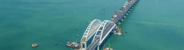 Крымский мост: первый месяц, первые цифры