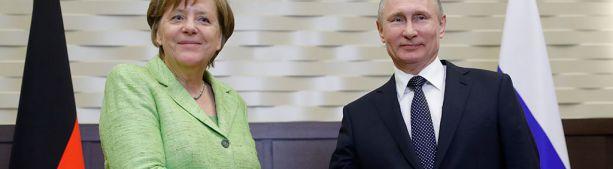 Внезапно анонсирована встреча Путин - Меркель