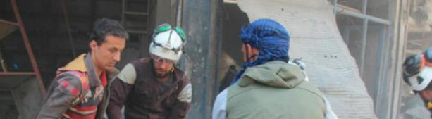 Появилось видео подготовки инсценировки «химатаки» в сирийском Идлибе