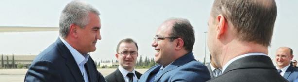 Крымская делегация посетила Сирию. Новый этап дружеских  отношений