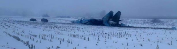 Разбившийся под Житомиром Су-27