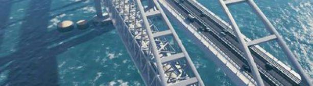Опоры арок Крымского моста надежно защитили от тарана судов. Насколько защищены остальные опоры