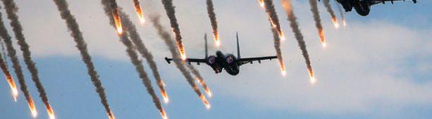 Два бомбардировщика Су-34 столкнулись в воздухе