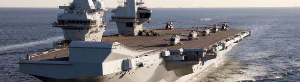 Великобритания направит авианосец к берегам Китая для демонстрации силы