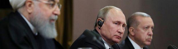 Как Путин подмял под себя Ближний Восток (Paris Match)