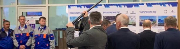 «Запускайте»: Владимир Путин ввел в эксплуатацию Балаклавскую и Таврическую ТЭС в Крыму