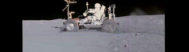 Наличие атмосферы в лунной миссии Apollo 16