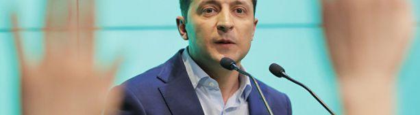 Bloomberg (США): новый президент Украины сейчас не смеется