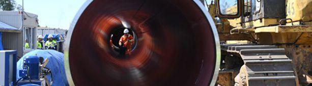 """В """"Газпроме"""" прокомментировали возможную задержку по """"Северному потоку — 2"""""""