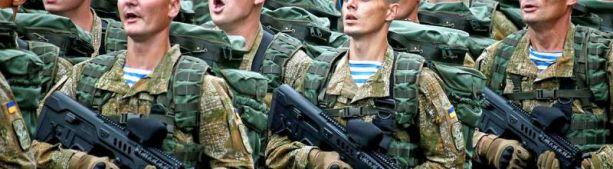 Украинский десант чтит дядю Васю, и плевать хотел на дядю Петю.