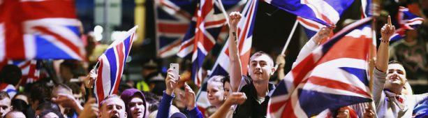 Брексит - нокаут Великой (когда-то) Британии.