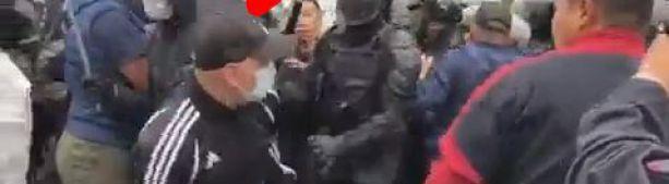 Митинг в Бурятии наконец-то разогнали. Интересное видео местного телеканала