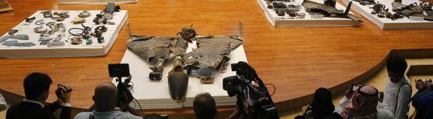 В Эр-Рияде показали обломки дронов и ракет, использованных в атаках на Saudi Aramco