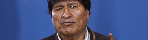 Президент Боливии Эво Моралес сообщил о своей отставке