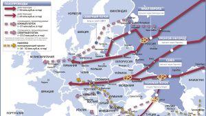 О поставках газа в Европу