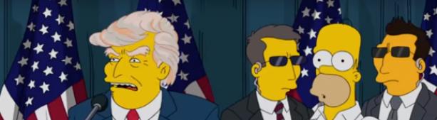 Не пожал руку: Это уже было в «Симпсонах»