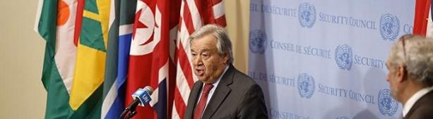 Генсек ООН озвучил два сценария для мира после пандемии коронавируса