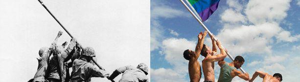 Кандидат в президенты США Джо Байден пообещал водрузить флаг ЛГБТ над Пентагоном