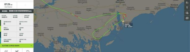 Стратегические бомбардировщики B-52H ВВС США впервые прошли воздушным пространством Украины к границе с Крымом