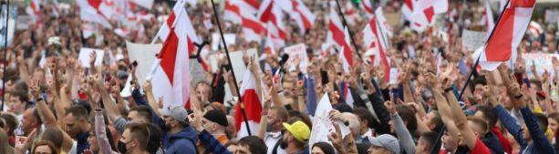 Итоги маршей протеста в Белоруссии