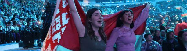 """Участница женского форума """"За Беларусь"""": нам комфортно жить в нашей стране и мы ее никому не отдадим"""