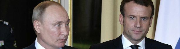 Вышел из доверия: зачем Макрон слил в прессу свой разговор с Путиным