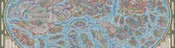Карта онлайн-мира в невероятных деталях