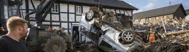 Федеральное правительство Германии было предупреждено за несколько дней до наводнения!