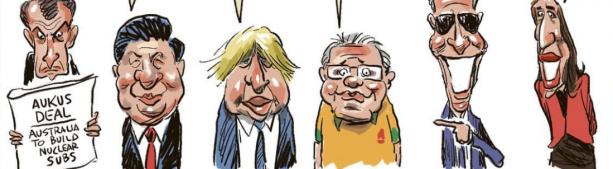 Франция, Австралия, Америка - дипломатический треугольник