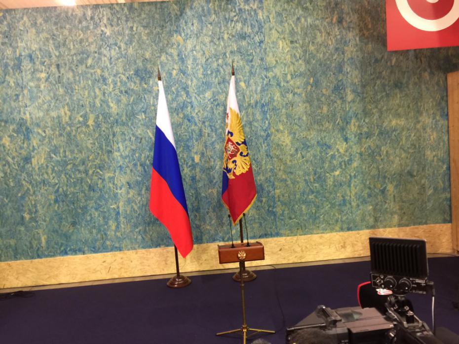 Пресс-конференция В.В. Путина в Париже