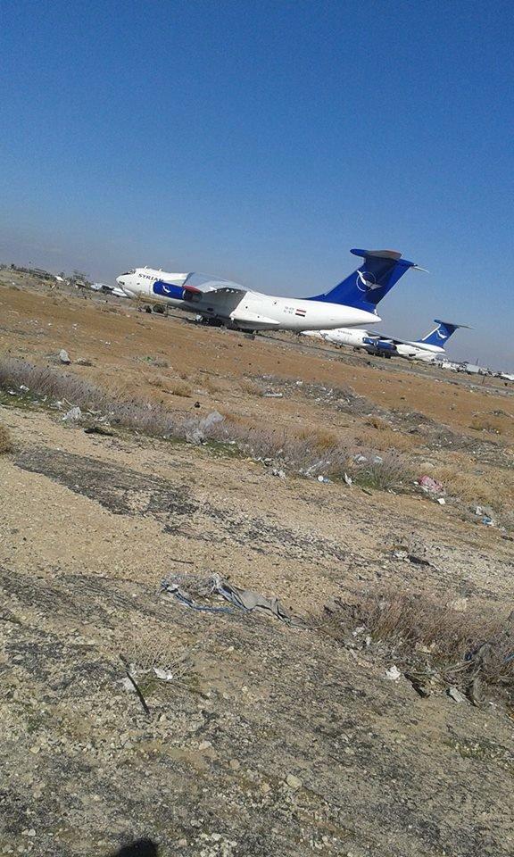 Доставка подкреплений сирийской армии в Дэйр-Эз-Зор самолетами Ил-76 и вертолетами Ми-17