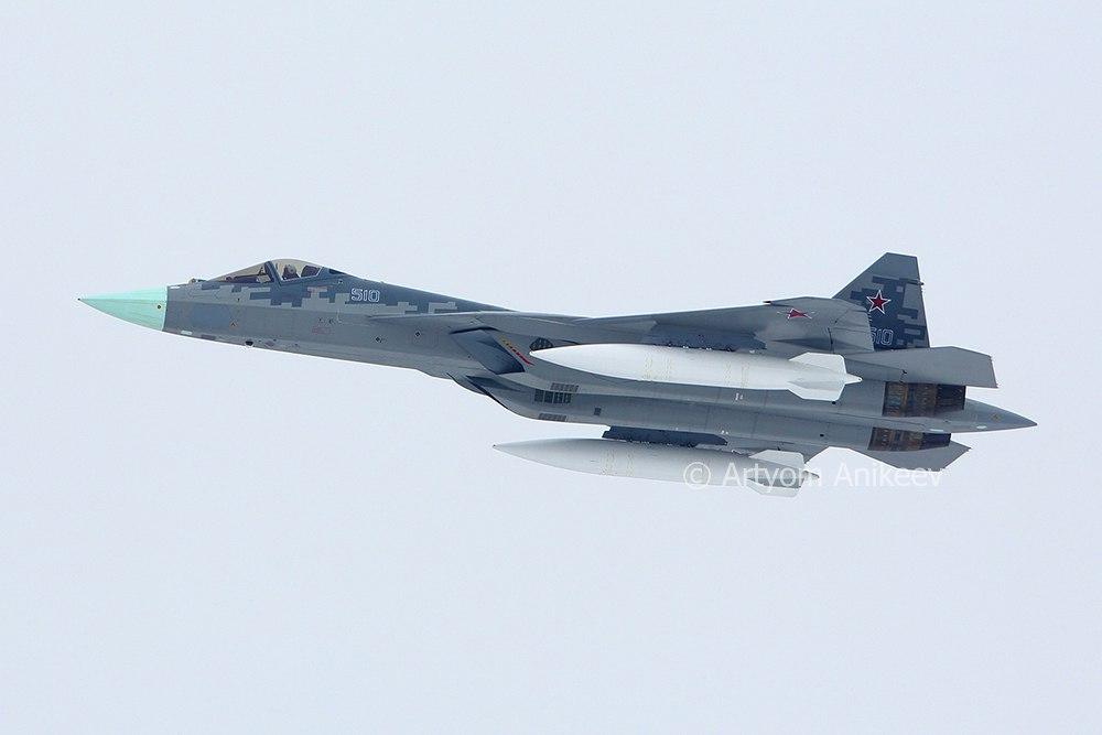 Ф-22 и ф-35 рядом не стояли с нашим Су-57