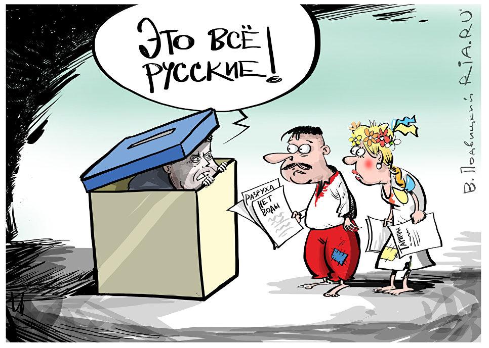 Выборы на украине карикатуры картинки