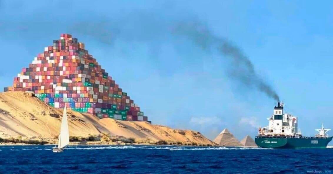 Модернизация египетских пирамид