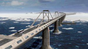 Строительство моста на Сахалин