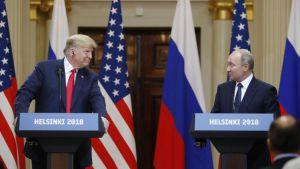 Встреча Трампа и Путина в Вашингтоне
