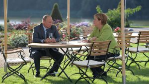 Встреча Путина и Меркель в Мезеберге (18.08.2018)